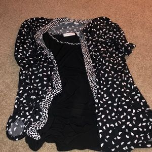 Susan Graver Tank and Cover Up Set
